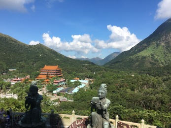 view of po lin monastery