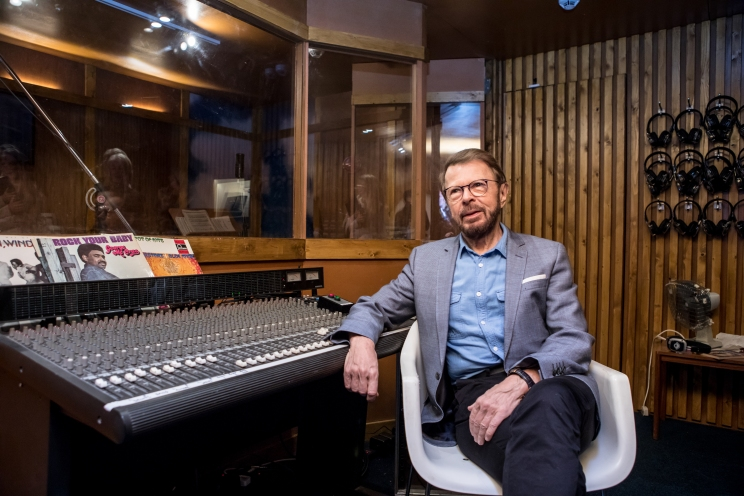03 Björn Ulvaeus opens ABBA_ Super Troupers at Southbank Centre credit Victor Frankowski