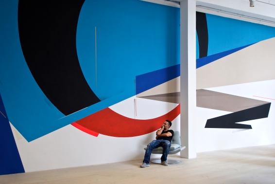 Mural for Morgan Furniture' London 2016